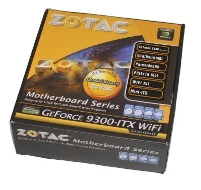ZOTAC GeForce 9300-ITX WiFi Motherboard