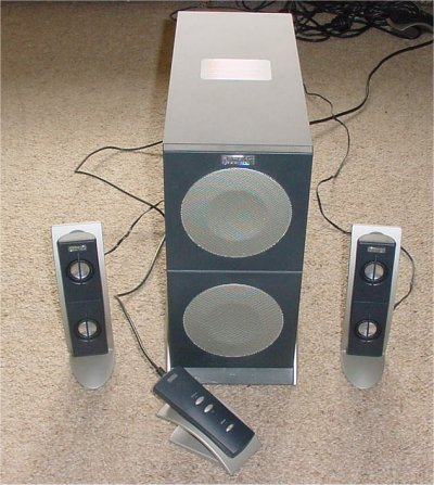 Altec Lansing Speaker Roundup May 2002