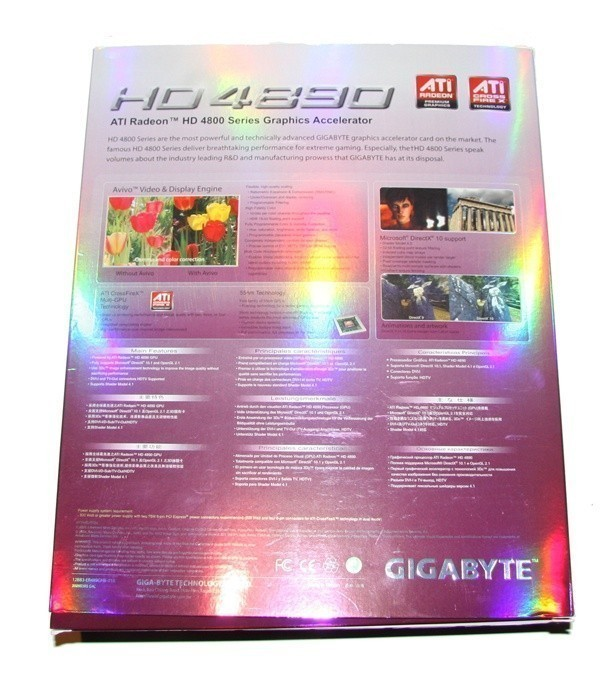 GIGABYTE Radeon HD 4890 1GB Graphics Card