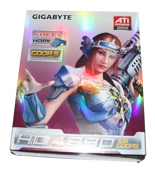 GIGABYTE Radeon HD 4890 1GB Graphics Card