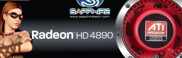 Sapphire Radeon HD 4890 1GB Graphics Card