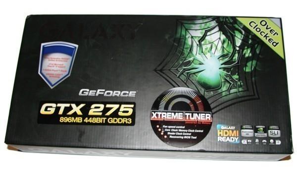 Galaxy GTX 275 Overclocked Graphics Card