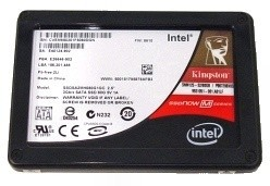 Kingston SSDNow M-Series 80GB SSD w/ Intel Firmware Update