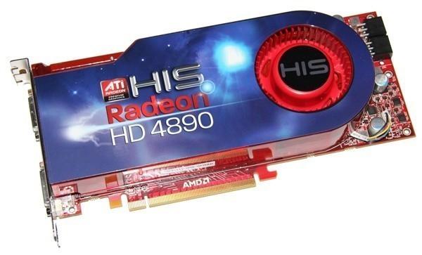 HIS HD 4890 Turbo Graphics Card