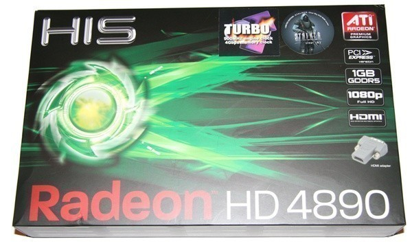 HIS HD 4890 Turbo Graphics Card