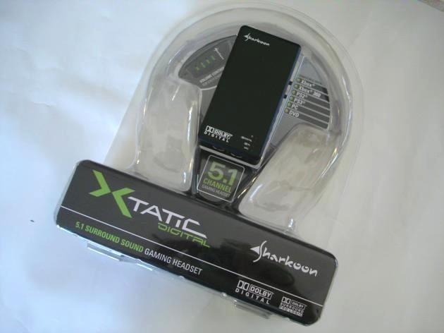 Sharkoon X-Tatic Digital 5.1 Headphones
