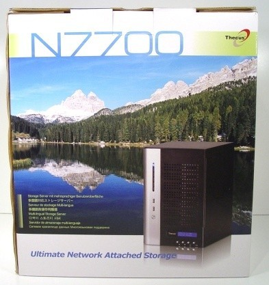 Thecus N7700 7 Drive NAS Server