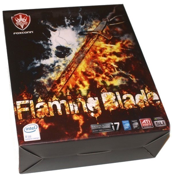 Foxconn Quantum Force X58 Flaming Blade Motherboard