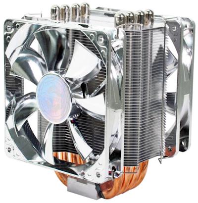 Evercool Transformer 4 HPJ-12025 CPU Cooler