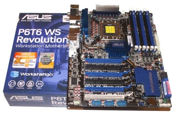 ASUS P6T6 WS Revolution X58 Motherboard