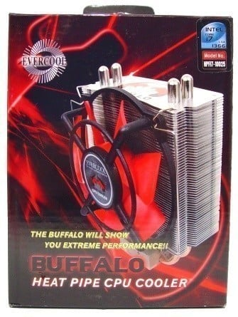 Evercool Buffalo HPFI7-10025 CPU Cooler