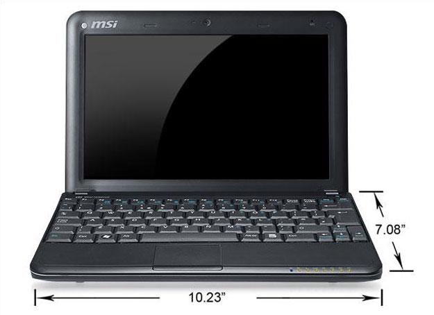 MSI Wind U100 10-inch Netbook