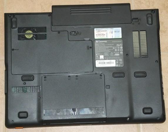 Gateway P-7808u FX Gaming Notebook