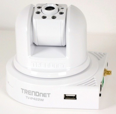 TRENDNet TV-IP422W Wireless IP Camera Server with 2-way Audio