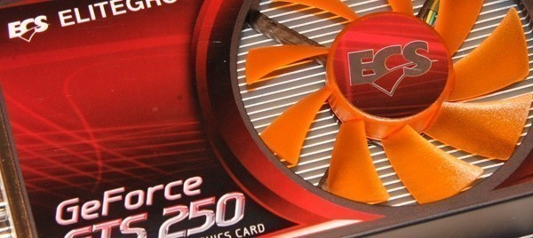 ECS GTS 250 1GB Graphics Card