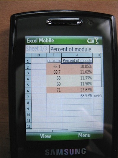Samsung i200 Windows Mobile Smartphone