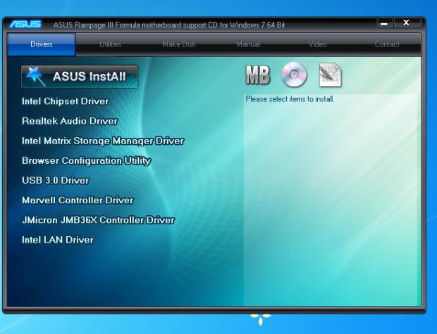 ASUS ROG Rampage III Formula (Intel X58 Express) Motherboard