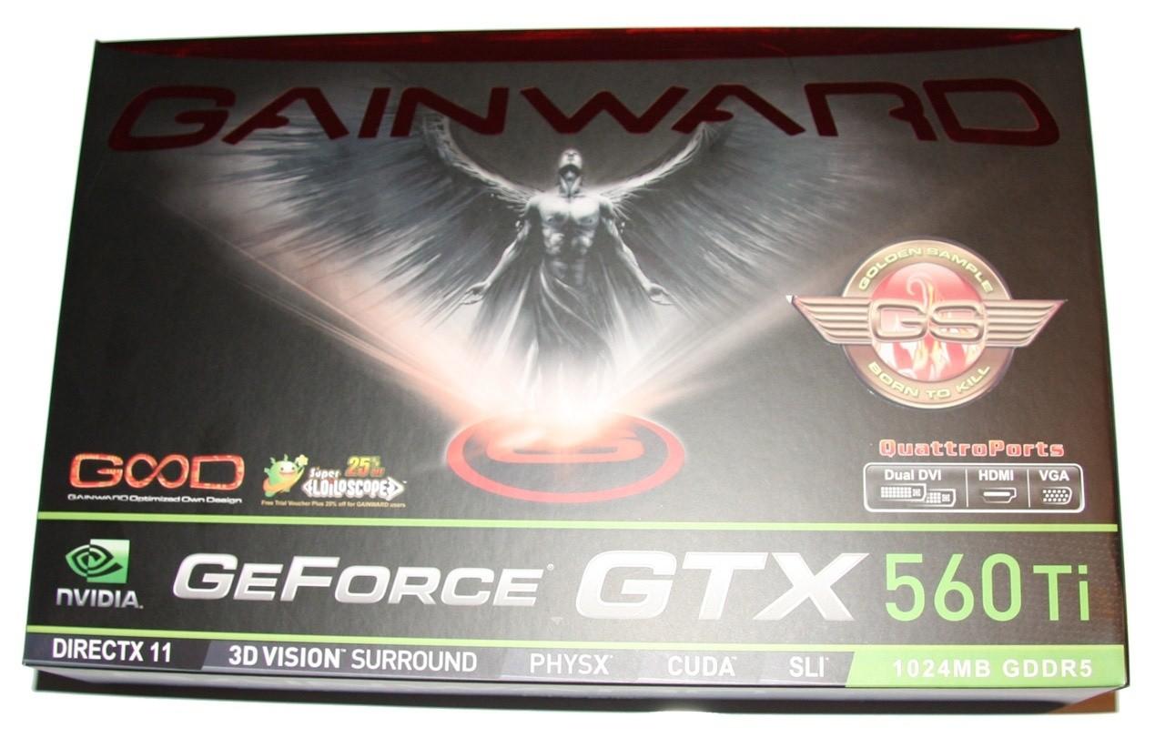 Gainward GeForce GTX 560 Ti Golden Sample Video Card