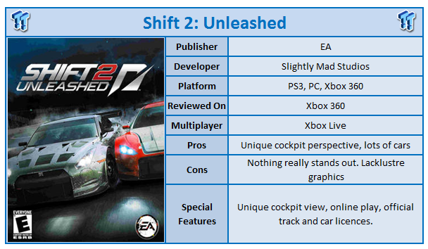 Need For Speed: Shift 2 Unleashed Xbox 360 Review