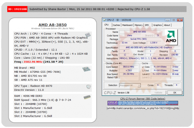 MSI A75MA-G55 (A75) Motherboard Review