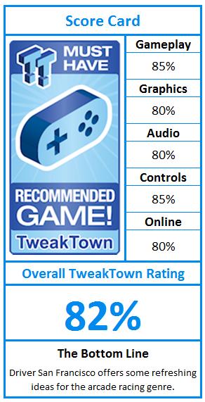 Driver San Francisco Xbox 360 Review Tweaktown