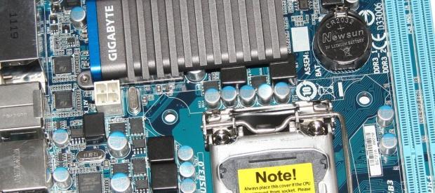 GIGABYTE H61N-USB3 (Intel H61) Mini-ITX Motherboard Review