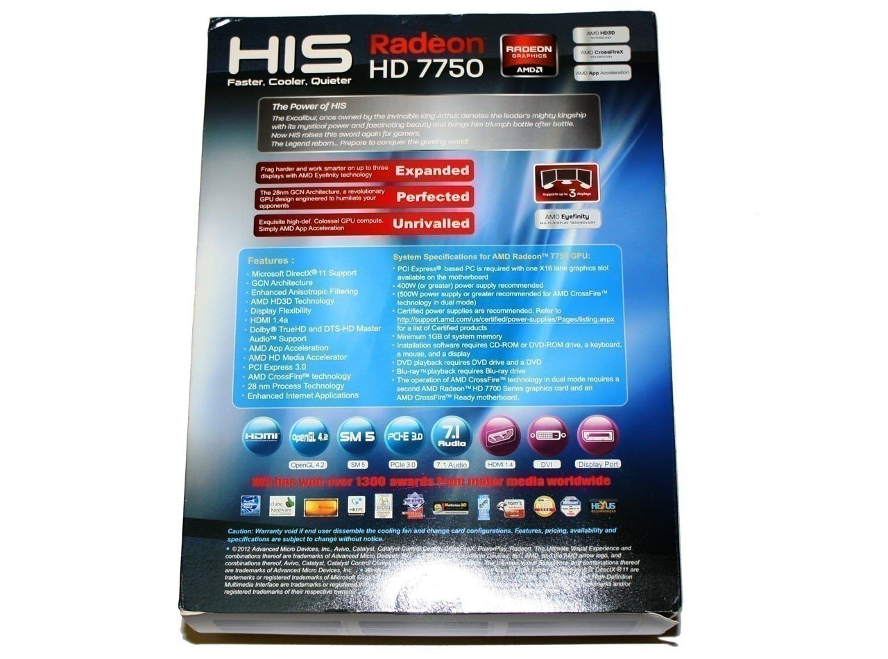 his_radeon_hd_7750_1gb_video_card_review