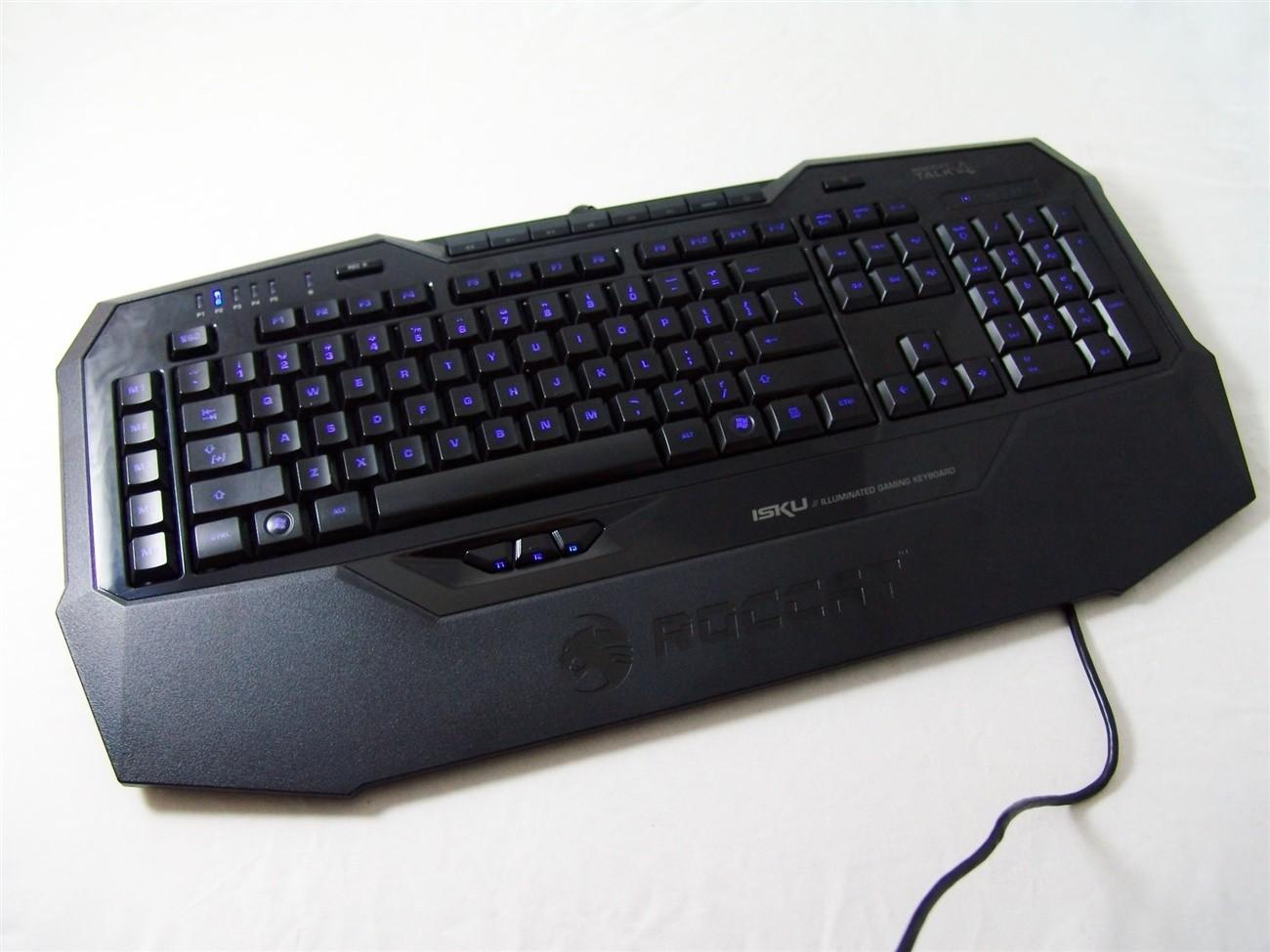 Roccat Isku Illuminated Gaming Keyboard Review