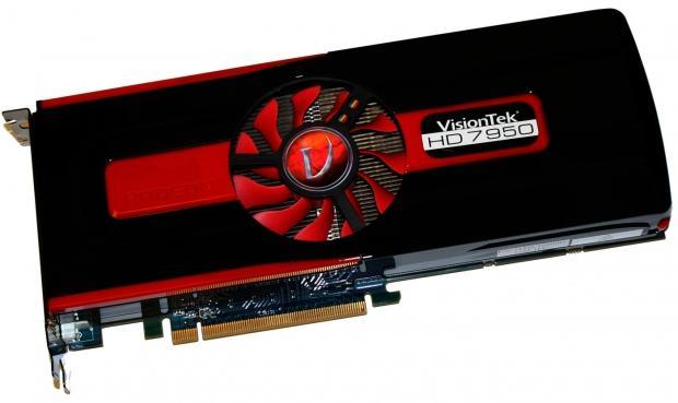 VisionTek Radeon HD 7950 3GB Video Card Overclocked Review
