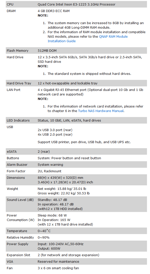 QNAP TS-EC1279U-RP Rack Mount 10GbE NAS Review