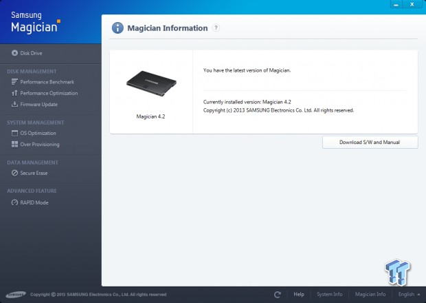 Samsung Magician 4 2 First Look - New SSD Toolkit adds Rapid
