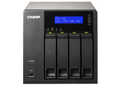 QNAP TS-421 4-bay Consumer NAS Appliance Review