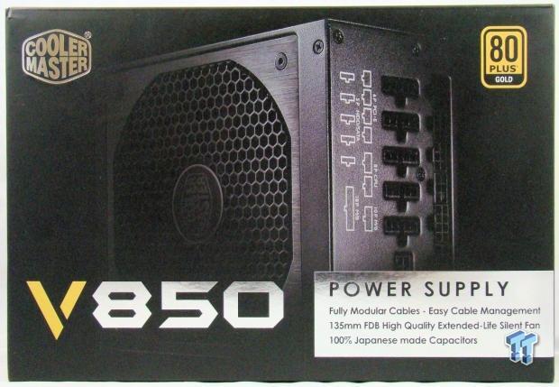 Cooler Master RS850-AFBAG1-US 850 Watt 80 Plus Gold Rated