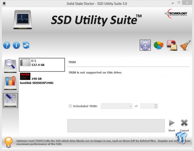 Solid State Doctor SSD Utility Suite 3.0 Software Overview (Page 4 ...