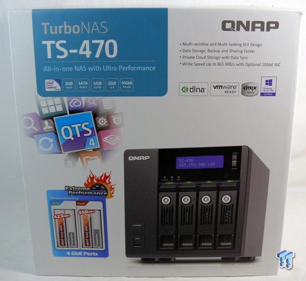 QNAP TS-470 4-Bay SMB NAS Review