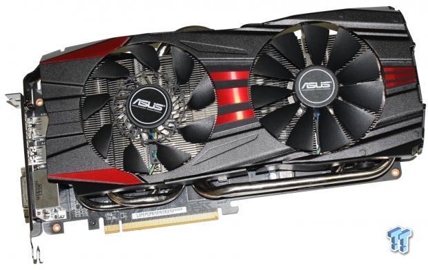 ASUS Radeon R9 280X DirectCU II TOP 3GB Overclocked Video