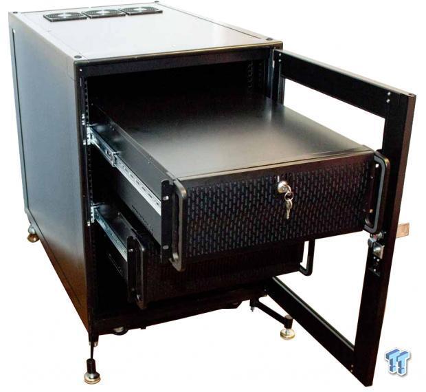 StarTech 15U 19-inch Black Server Rack Cabinet 2636CABINET