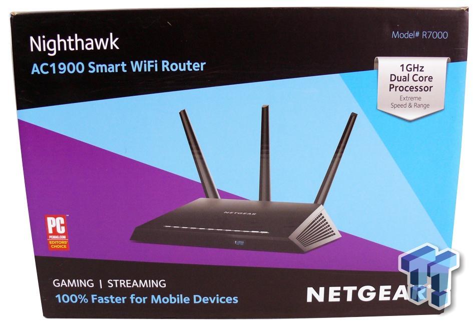 Netgear Nighthawk R7000 AC1900 Smart Wi-Fi Router Review