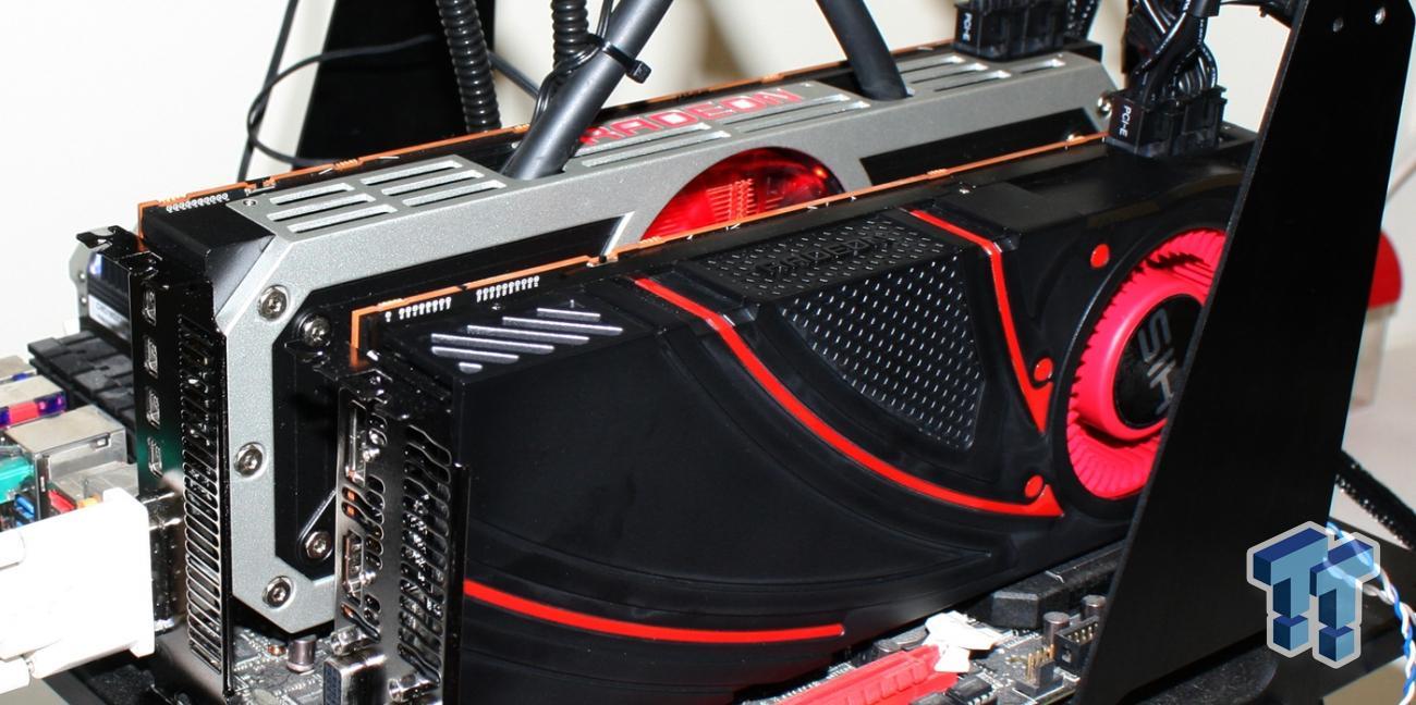 AMD Radeon R9 295X2 8GB and R9 290X 4GB Video Cards in CrossFireX