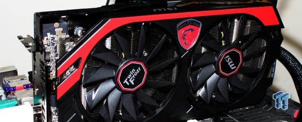 MSI Radeon R9 280X 6GB Twin Frozr Gaming Overclocked Video