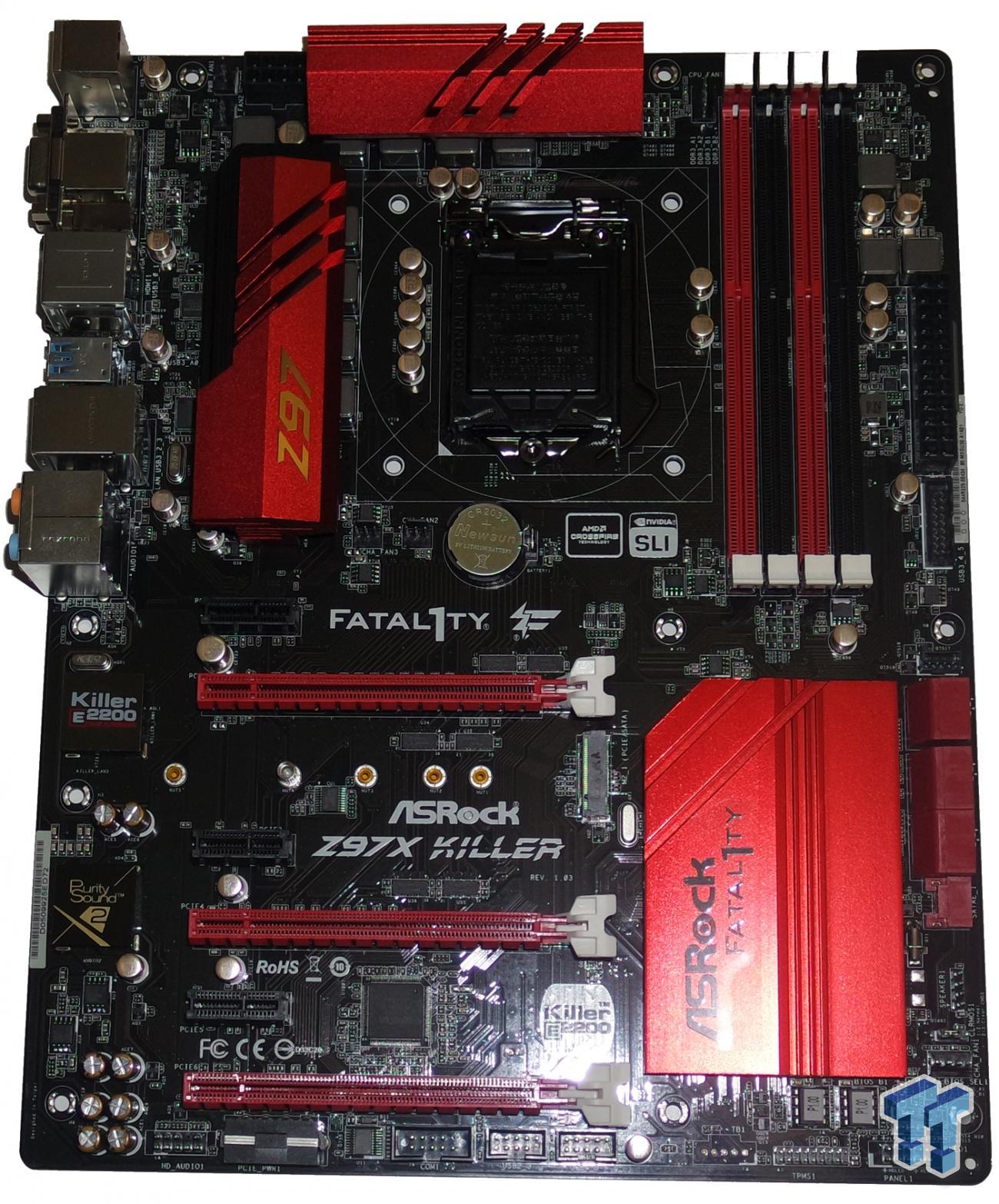 ASRock Z97X Fatal1ty Killer (Intel Z97) Motherboard Review