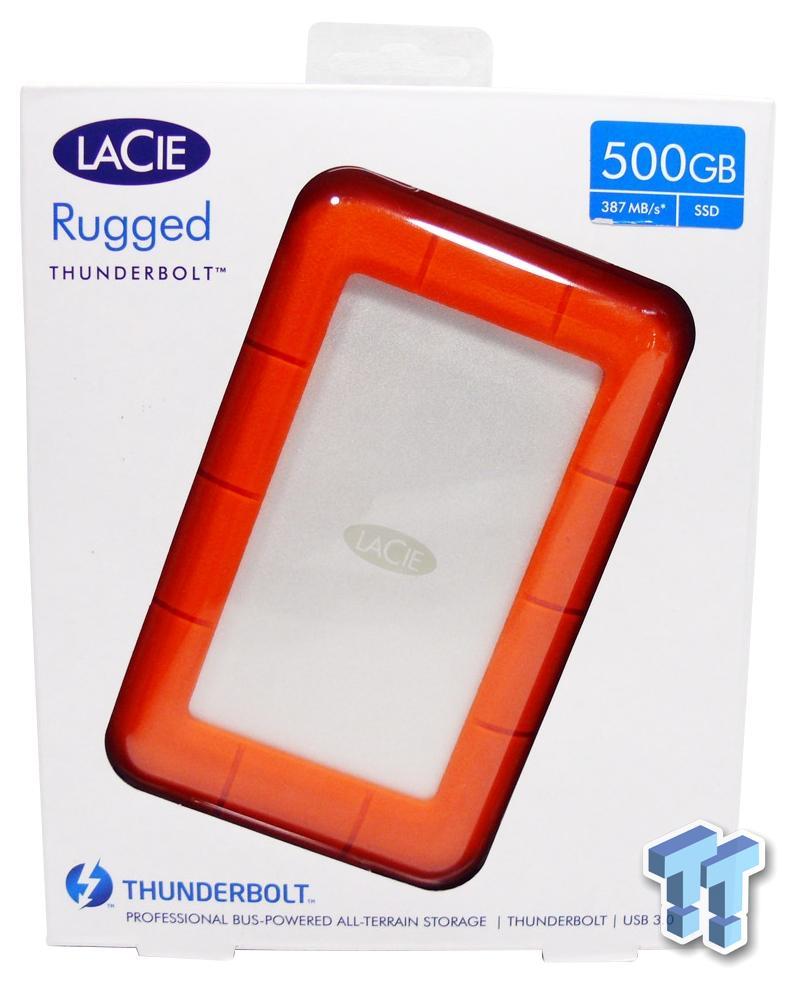 Lacie Rugged Usb 3 0 Thunderbolt 500gb