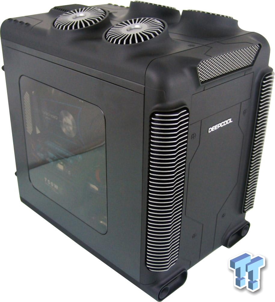 deepcool steam castle b micro atx chassis review