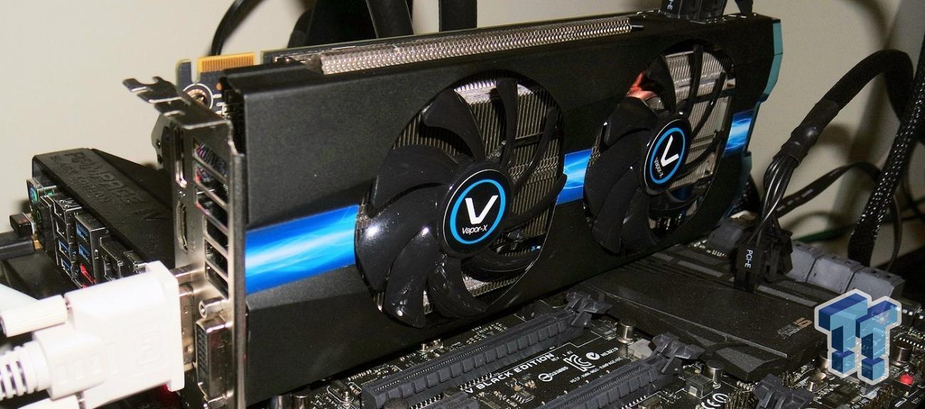 Sapphire Radeon R9 270x 2gb Vapor X Oc Overclocked Video Card Review Tweaktown