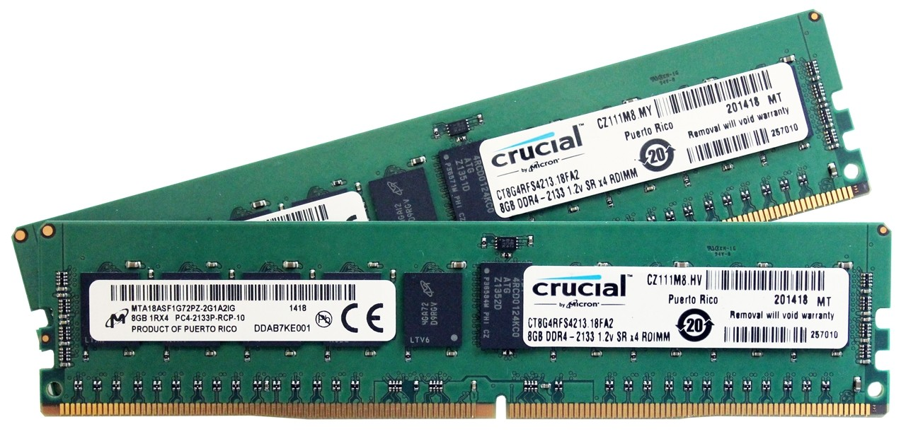 Crucial DDR4 Memory Performance Overview Early Look vs  DDR2