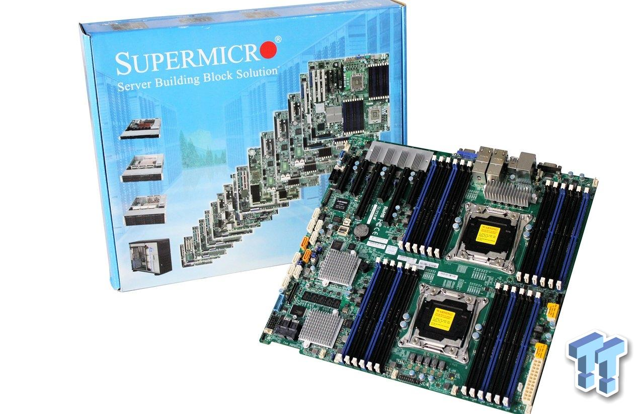 Supermicro X10DRC-T4+ (Intel C612) Server Motherboard Review