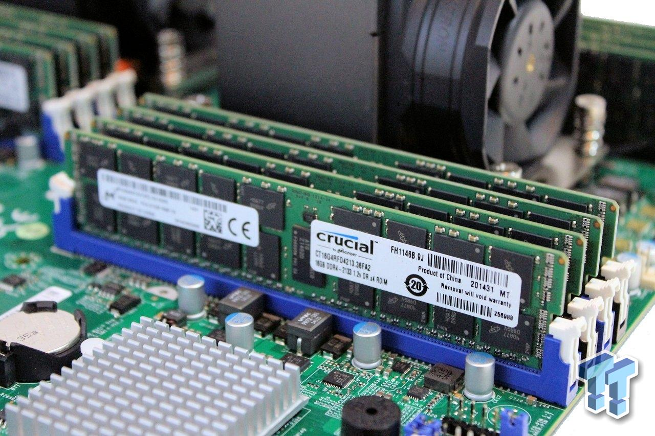 Crucial Ddr4 2133 Drx4 Rdimm Memory Review Testing Up To