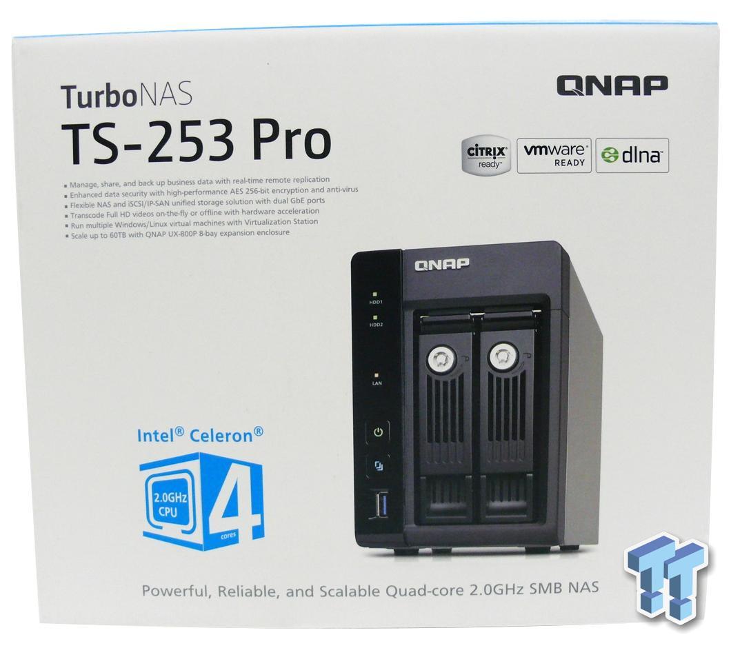 QNAP TS-253 Pro Consumer NAS Review