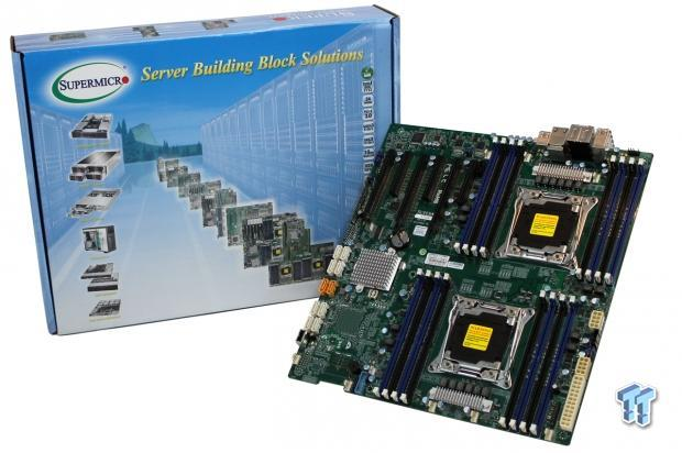Supermicro X10DAX (Intel C612) Workstation Motherboard Review