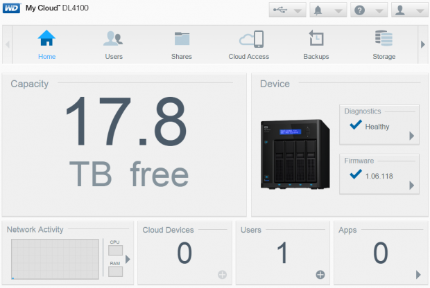 Western Digital My Cloud DL4100 SMB NAS Review